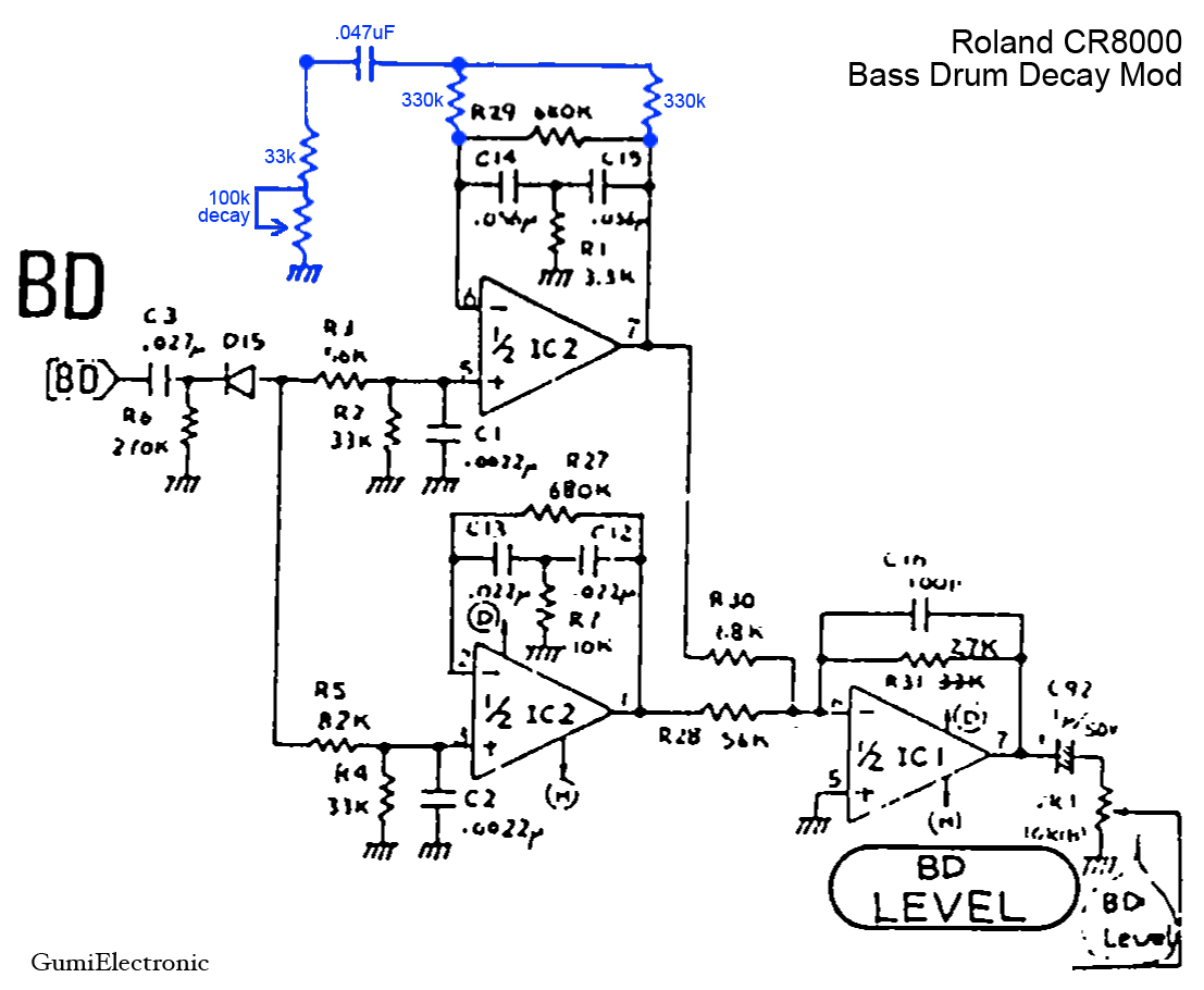 bddecay roland compurhythm cr8000 modified by gumi documents Ford Electronic Ignition Wiring Diagram at mifinder.co
